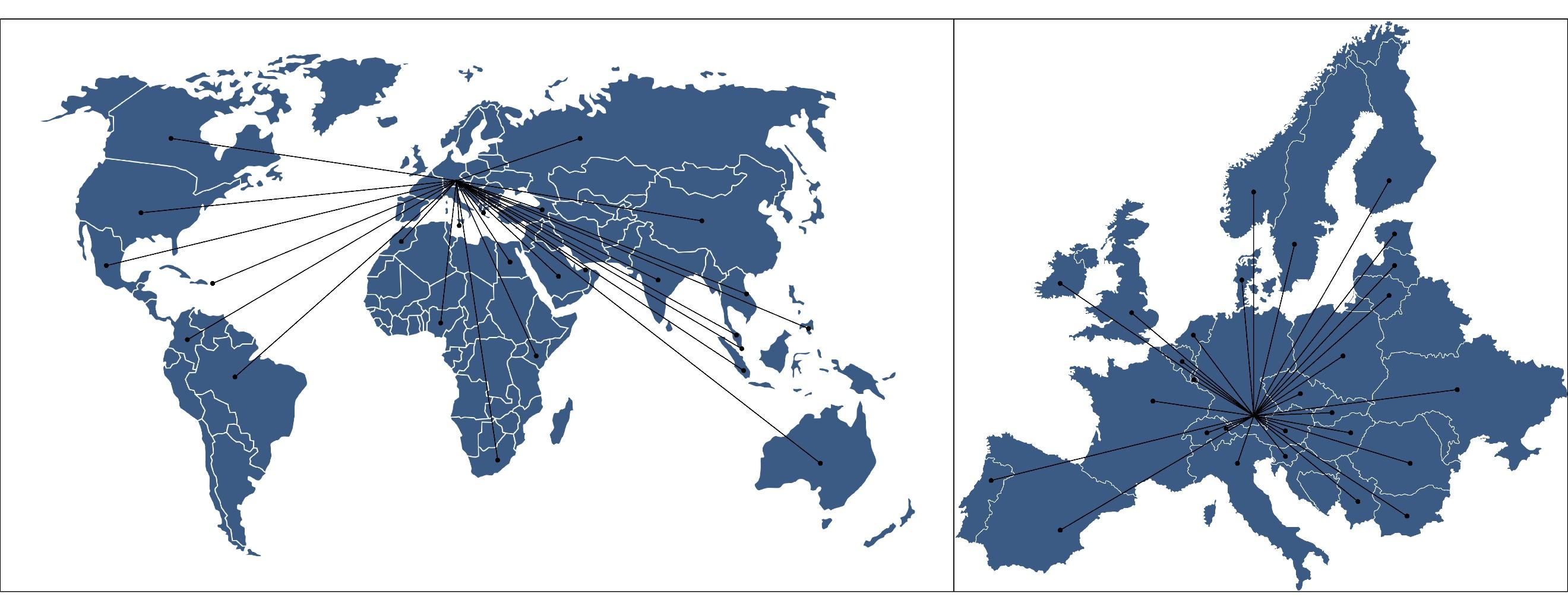 TMR-Weltkarte
